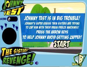 لعبة جوني في الاختبار