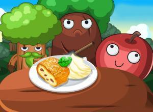 لعبة طبخ كعكة التفاح