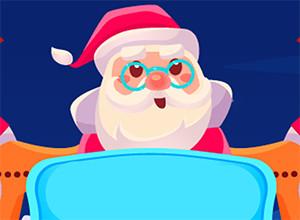 لعبة بابا نويل وهدايا عيد الميلاد