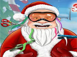 لعبة بابا نويل و تجميله