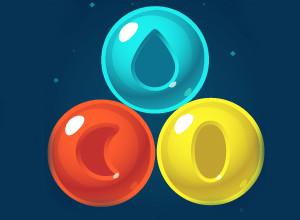 لعبة مدفع الهاوين قاذف البلونات الملونة