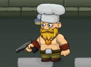 لعبة الطباخ المقاتل