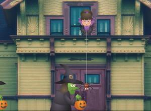 لعبة سرقة حلوي الهالوين
