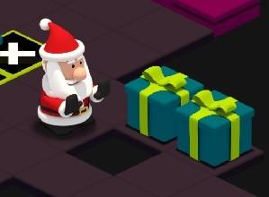 لعبة مغامرات منزل بابا نويل