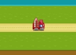 لعبة توصيل السيارات الي الجراج
