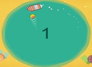 لعبة المركب و كرة البحر