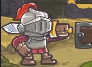 لعبة المحارب الحديدي و الحصول علي الكنز
