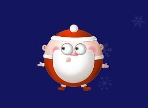 لعبة بابا نويل و الحصول علي هدايا