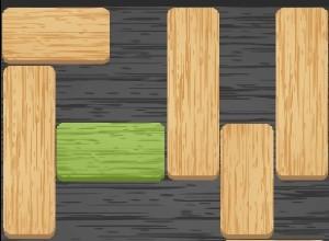 لعبة بازل الواح الخشب