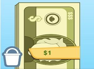 لعبة امطار الدولارات