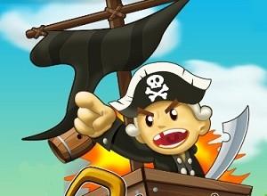 لعبة قراصنة السفن و المدافع الملونة