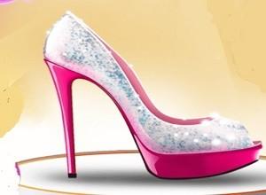 لعبة حذاء سندريلا
