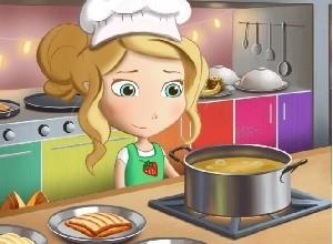 لعبة مغامرات سالي في المطبخ