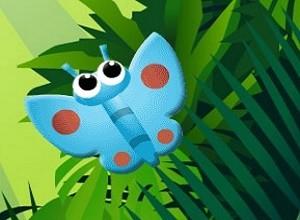 لعبة بازل حشرات الحديقة