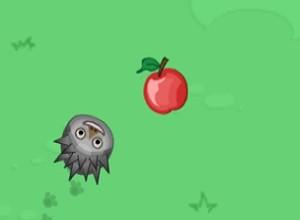 لعبة القنفد و اكل التفاح