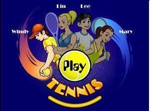 لعبة البطولة المفتوحة للتنس