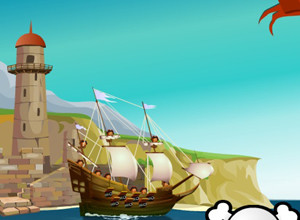 لعبة حرب قراصنة السفن