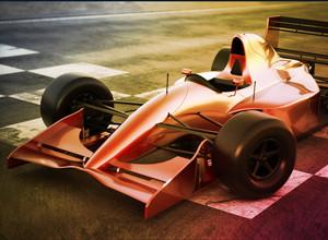 لعبة سباق سيارات النيتروجين