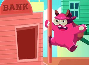 لعبة الهروب من البنك