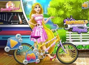 لعبة ربانزل اعداد الدراجة