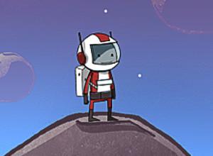 لعبة وثبات الفلك الفضائية