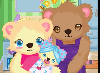لعبة تجهيز ولادة الدبة