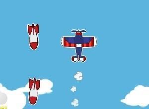 لعبة معركة طائرات السماء