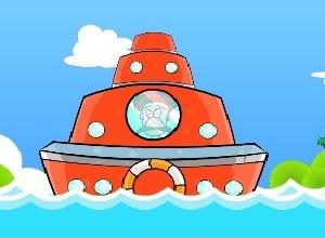 لعبة السفينة و صيد السمك