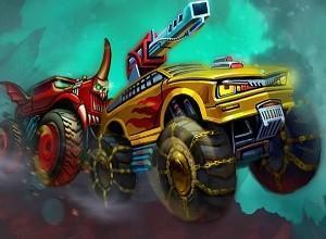 لعبة حرب سيارات كراش