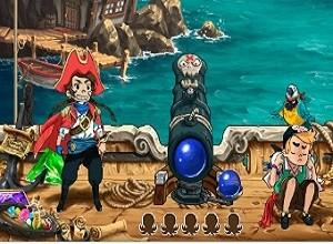 لعبة القرصان ومدفع كرات الالوان