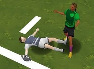 لعبة مغامرات كرة القدم الامريكية