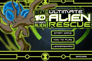 لعبة معركة بن تن مع الكائنات الفضائية