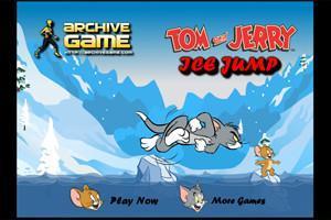 لعبة توم وجيري القفز فوق الجليد