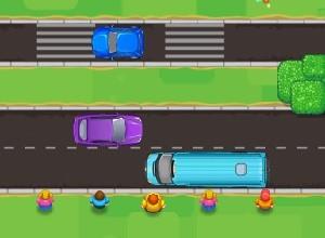 لعبة تأمين عبور الطريق