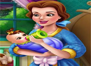 لعبة الطفله و النوم