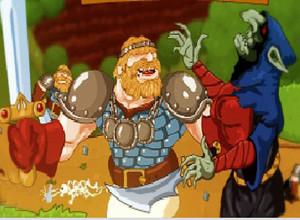 لعبة حماية قلعة الذهب