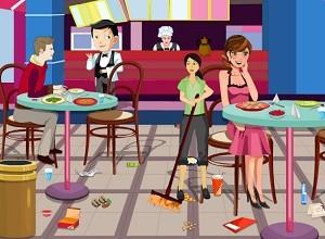 لعبة تنظيف المطعم
