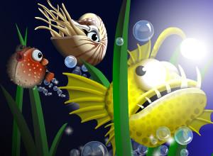 لعبة السمكة فلاش الكهربائية