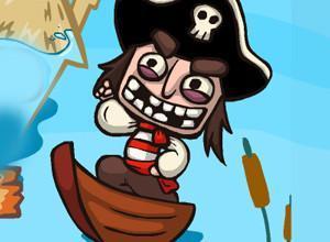 لعبة القرصان و غرق المدينة