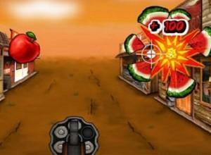 لعبة راعي البقر و الفاكهة