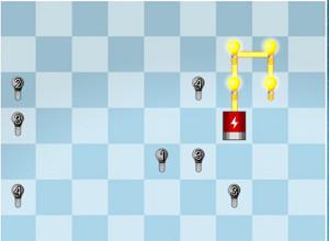 لعبة توصيل الدائرة الكهربائية