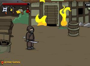 لعبة معركة النينجا
