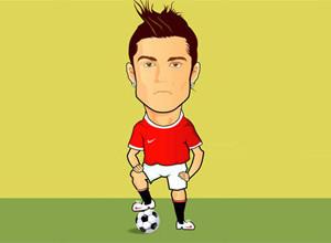 لعبة كرة القدم و كريستيانو رونالدو