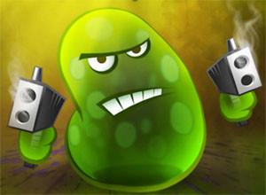 لعبة مكافحة البكتيريا