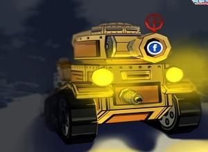 لعبة مغامرة الدبابة في الشتاء