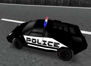 لعبة سباق سيارات البوليس