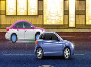 لعبة سيارات السرعة الصغيرة