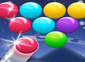 لعبة قاذف الفقاقيع الملونة