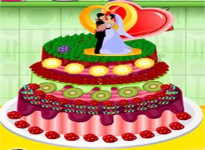 لعبة تورتة حفلة الزواج