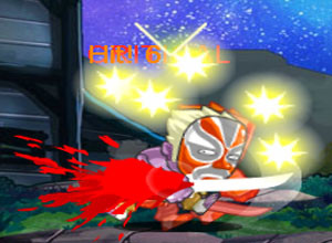 لعبة الساموراى المقاتل